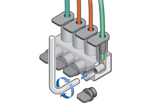 Re-enterable Connectors